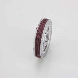 FILO CERATO BORDEAUX 5 MT