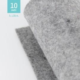 ROTOLO PANNOLENCI GRIGIO CHIARO H180 CM x 10 M
