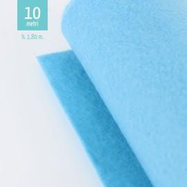 ROTOLO PANNOLENCI AZZURRO CIELO H180 CM x 10 M