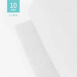 ROTOLO PANNOLENCI BIANCO H180 CM x 10 M