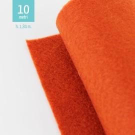 ROTOLO PANNOLENCI ROSSO TEGOLA H180 CM x 10 M