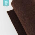 ROTOLO PANNOLENCI MARRONE MORO H180 CM x 10 M