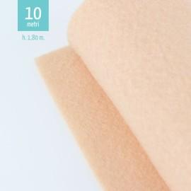 ROTOLO PANNOLENCI CARNE H180 CM x 10 M