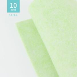 ROTOLO PANNOLENCI VERDE PASTELLO H180 CM x 10 M