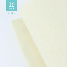 ROTOLO PANNOLENCI CREMA H180 CM x 10 M