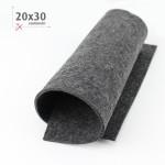 FELTRO GRIGIO ANTRACITE 20X30 CM
