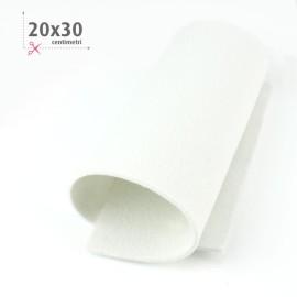 FELTRO BIANCO 20X30 CM