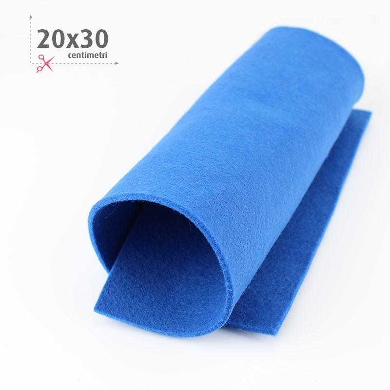 FELTRO BLU ELETTRICO 20X30 CM