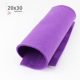FELTRO VIOLA 20X30 CM