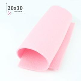 FELTRO ROSA BABY 20X30 CM