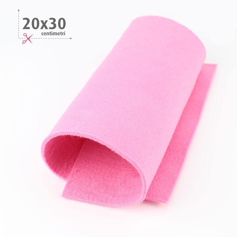 FELTRO ROSA 20X30 CM