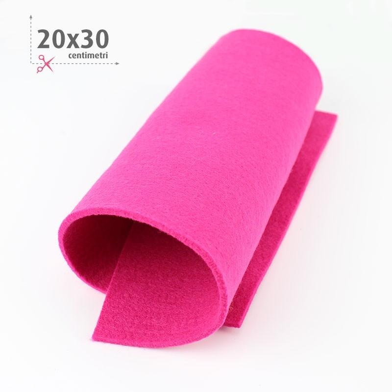 FELTRO FUCSIA 20X30 CM