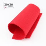 FELTRO ROSSO 20X30 CM
