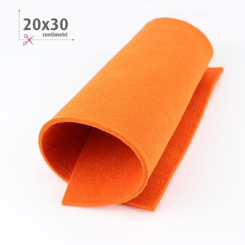 FELTRO ARANCIO 20X30 CM
