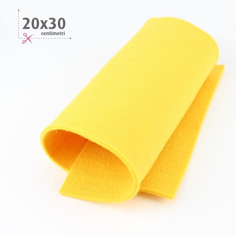 FELTRO GIALLO 20X30 CM