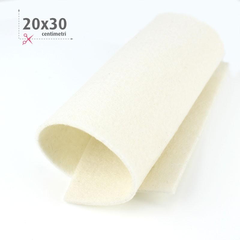 FELTRO CREMA 20X30 CM