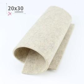 FELTRO SABBIA MELANGE 20X30 CM