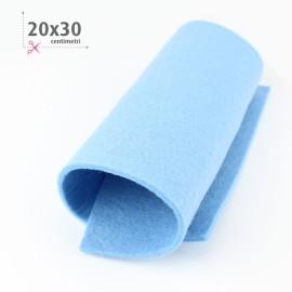 FELTRO AZZURRO CIELO 20X30 CM