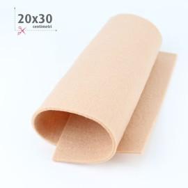 FELTRO SALMONE PASTELLO 20X30 CM