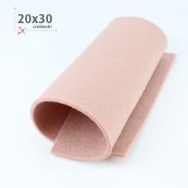 FELTRO ROSA ANTICO 20X30 CM