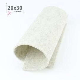 FELTRO GRIGIO MARMO MELANGE 20X30 CM