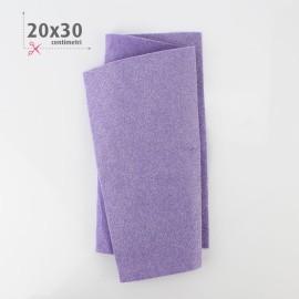 PANNOLENCI METAL 20X30 CM - LILLA