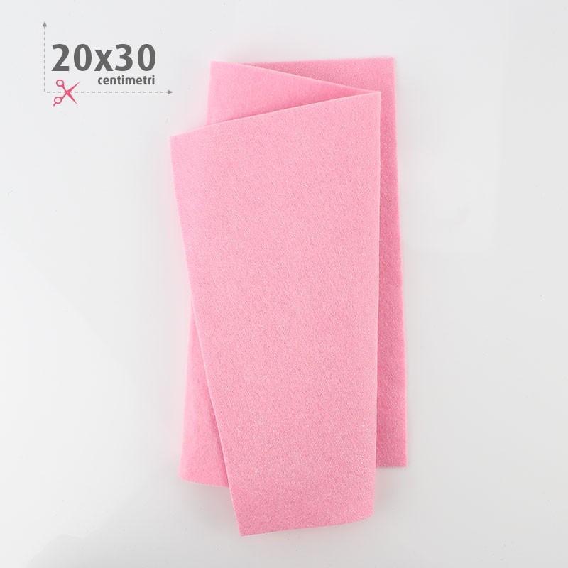 PANNOLENCI METAL 20X30 CM - ROSA