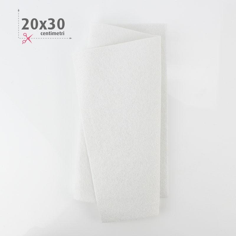 PANNOLENCI METAL 20X30 CM - BIANCO