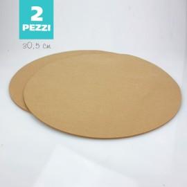 SET 2 SOTTOPIATTI IN FELTRO - BISCOTTO