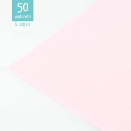 LIGHT PINK FELT BY THE METER 50X140 CM