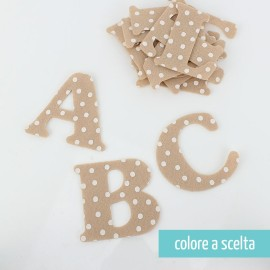 LETTERA IN PANNOLENCI - STAMPA POIS