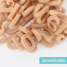 SET 250 LETTERE MINI IN FELTRO STAMPATELLO MINUSCOLO - FONT 1