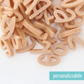SET 250 LETTERE MINI IN FELTRO STAMPATELLO MINUSCOLO - FONT 3