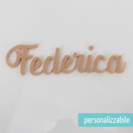 NOME IN FELTRO PERSONALIZZATO - FONT 2