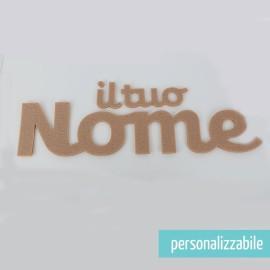 NOME IN FELTRO PERSONALIZZATO - FONT 5