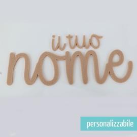 NOME IN FELTRO PERSONALIZZATO - FONT 6