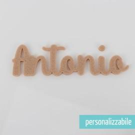 NOME IN FELTRO PERSONALIZZATO - FONT 8