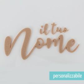 NOME IN FELTRO PERSONALIZZATO - FONT 9