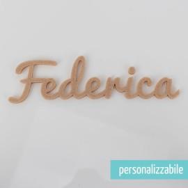 NOME IN FELTRO PERSONALIZZATO - FONT 10