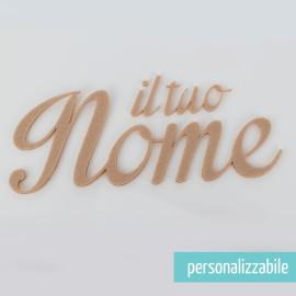 NOME IN FELTRO PERSONALIZZATO - FONT 12