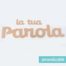 PAROLA IN FELTRO PERSONALIZZATA - FONT 5