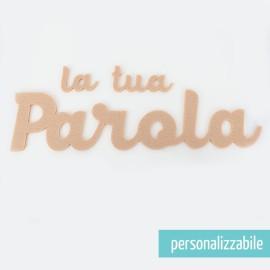 PAROLA IN FELTRO PERSONALIZZATA - FONT 7