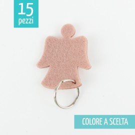 15 KEY RING IN FELT 3mm - ANGIOLETTO