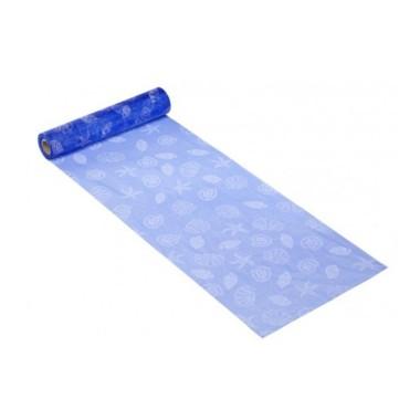 ORGANZA H 28 x 50 cm - MARITIME ELECTRIC BLUE