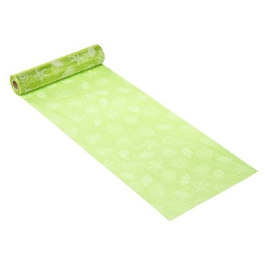 ORGANZA H 28 x 50 cm - MARITIME-APPLE GREEN