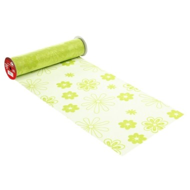 ORGANZA H 29 x 50 cm - FLOWER ACID GREEN