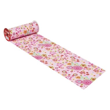 COTTON, H 20 x 50 cm - FLOWER POWER PINK