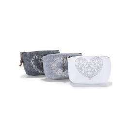 PORTAMONETE IN FELTRO - GREY