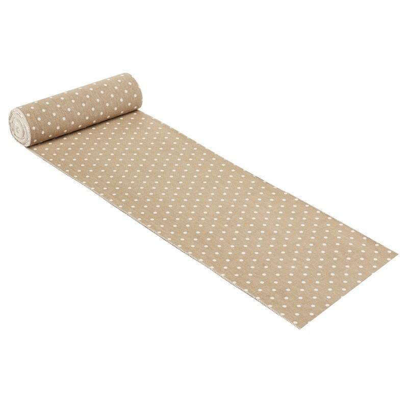 LINEN H 20 x 50 cm - polka DOTS