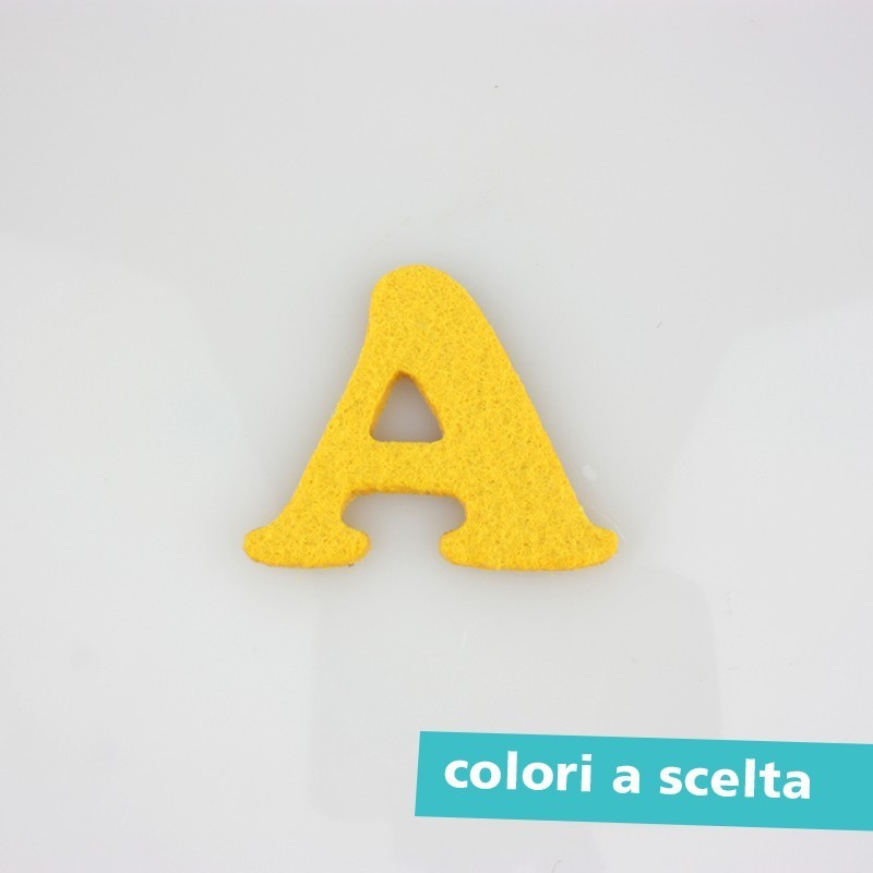 "LETTER COLORED FELT - lower case ""a"""